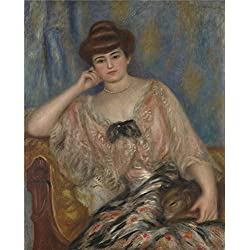 Oil Painting 'Pierre Auguste Renoir Misia Sert ' Printing On Polyster Canvas , 18 X 22 Inch / 46 X 57 Cm ,the Best Bedroom Artwork And Home Decoration And Gifts Is This Amazing Art Decorative Prints On Canvas