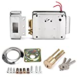 New DC 12V Stainless Steel Electric Control Lock Doorbell Access Control Lock