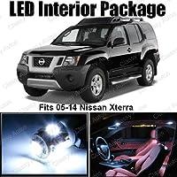 Classy Autos Nissan Xterra White Interior LED Package (8 piezas)