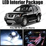 Classy Autos Nissan Xterra White Interior LED Package (8 Pieces)
