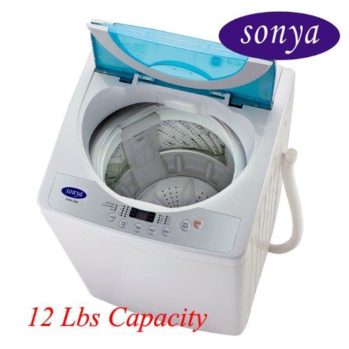 Amazon.com: Sonya Compact Portable Apartment Small Washing Machine ...