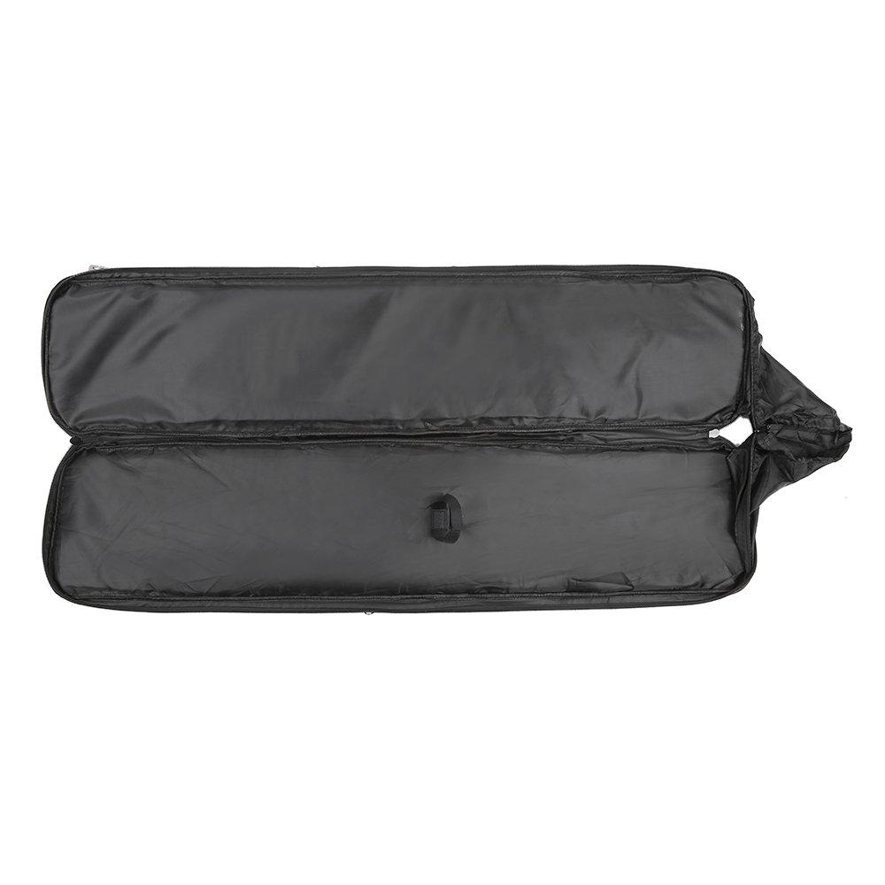 Festnight 95cm / 120cm Outdoor Hunting Gun Carry Bag Gear Protection Case with Adjustable Shoulder Strap, Black by Festnight (Image #4)