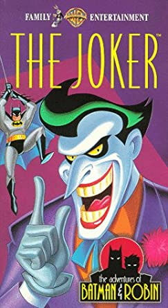 Christmas With The Joker.Amazon Com Adv Of Batman Robin Joker Vhs Kevin Conroy