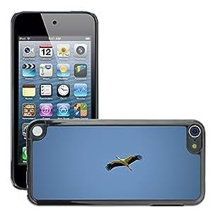 Super Stella Slim PC Hard Case Cover Skin Armor Shell Protection // M00148056 Stork Bird Animal Rattle Stork // Apple ipod Touch 5 5G 5th