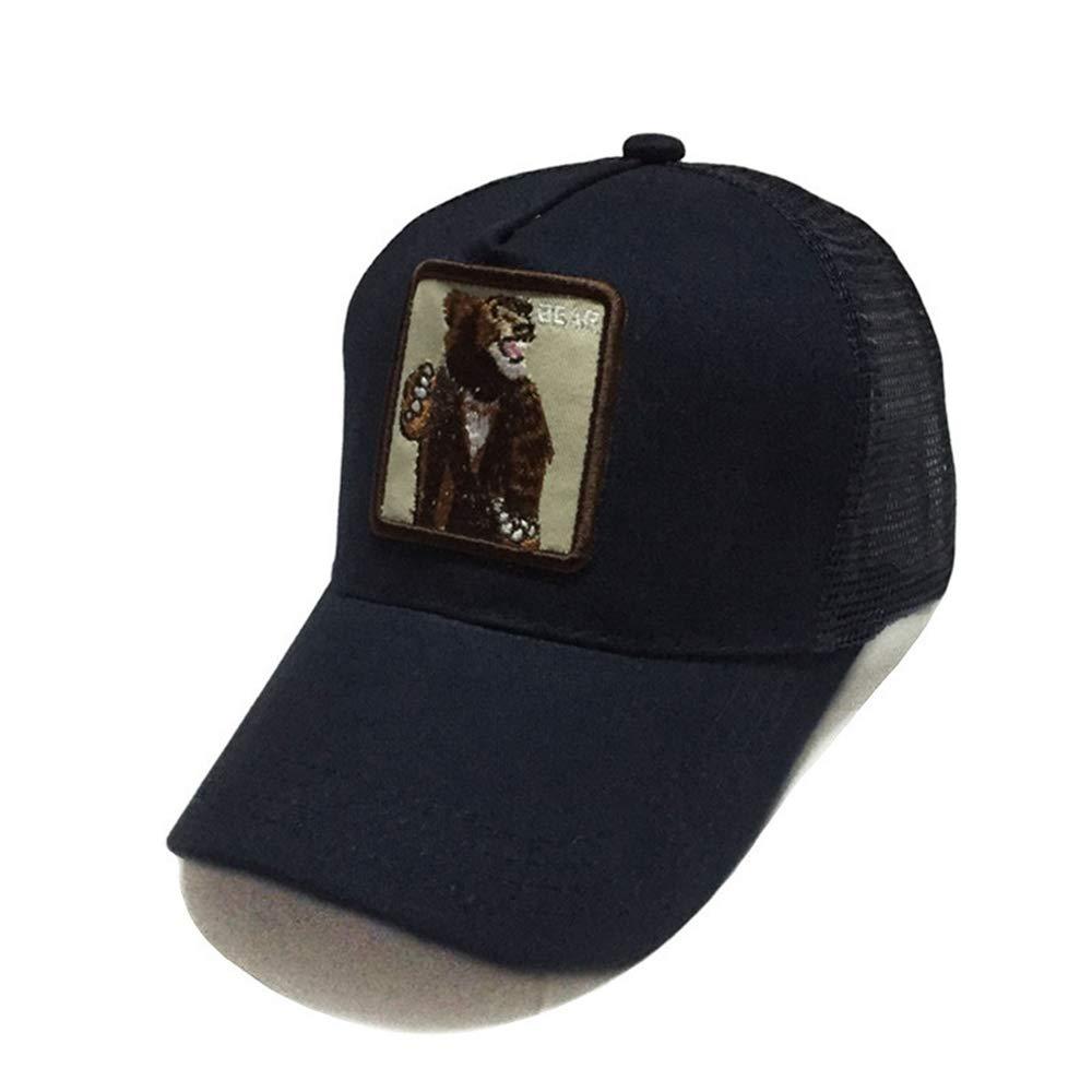 zhuzhuwen Sombrero Nuevo Animal Bordado Gorra Gorra de béisbol ...