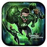 Green Lantern Large Paper Plates (8ct)