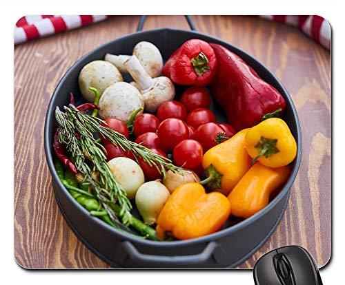 Mouse Pad - Onion Tomato Pepper Garlic Egypt Organic Health 1