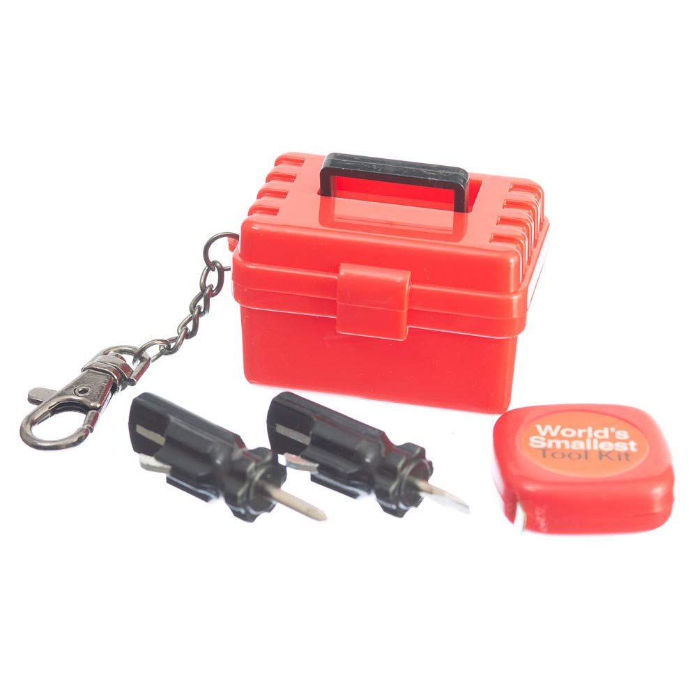 Multicoloured Funtime Gifts EG7920 World/'s Smallest Tool Kit