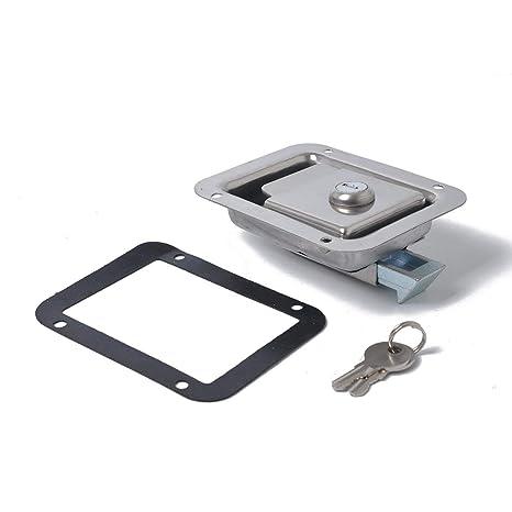 Tellaboull Caja de Herramientas portátil Paddle Latch Caja ...