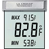 La Crosse Technology WS-1025 Digital Window Thermometer