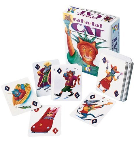 Gamewright 204 Rat A Tat Cat