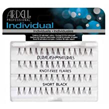 Ardell Duralash Naturals Lashes Knot-Free Flares Short Black, 1-Count