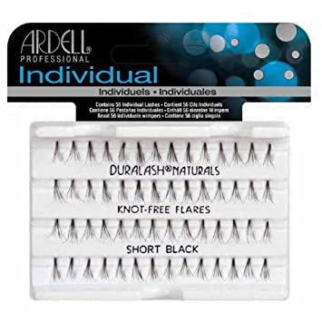 20fbeebae80 Ardell Duralash Naturals Lashes Knot-Free Flares Short Black, 1-Count:  Amazon.ca: Beauty