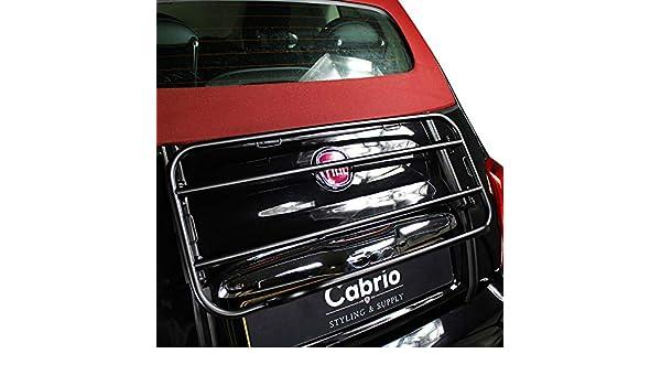 Fiat 500 Cabrio portaequipajes - Black Edition 2007 de hoy: Amazon.es: Coche y moto