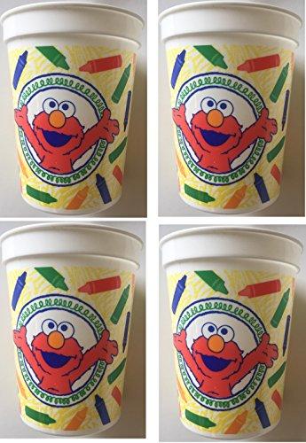 Sesame Street Elmo's World Reusable Keepsake Cup (4ct) ()
