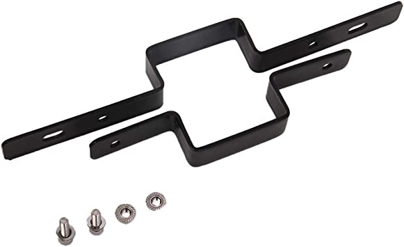 ELITEWILL 2 Tow Light Bracket Steel Tow Hitch Mounting Bracket Dual LED Backup Reverse