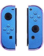 eXtremeRate Joycon Handheld Controller Housing with Full Set Buttons, DIY Replacement Shell Case for Nintendo Switch Joy-Con – Console Shell NOT Included