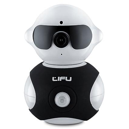 LiFu 960P - Cámara IP inalámbrica para vigilancia de la Seguridad en el hogar HD Pan