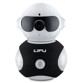 Amazon.com: Wireless IP Camera, LiFu Mini Robot Home Security ...