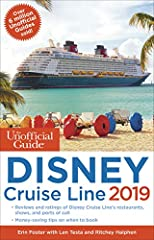 Your no-nonsense, consumer-oriented guide to Disney's Cruise Line The Unofficial Guide to the Disney Cruise Line by Len Testa with Erin Foster, Laurel Stewart, and Ritchey Halphen describes the best of Disney's ships and itineraries, includin...