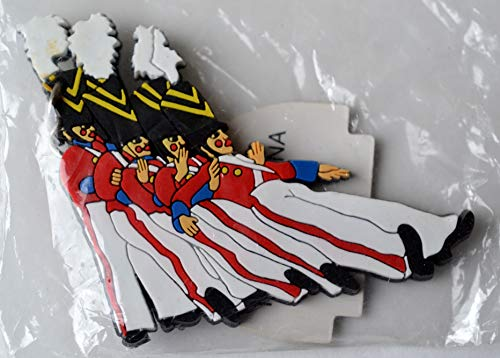Radio City Music Hall Rockettes Wooden Soldier Fall Keychain]()