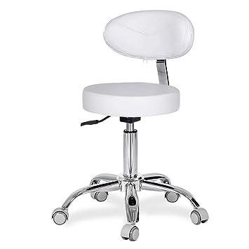 HSRG Taburete Giratorio Ajustable con Respaldo para sillones ...