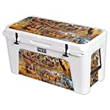 Skin For YETI Tundra 110 qt Cooler – Deer Pattern | MightySkins Protective, Durable, and Unique Vinyl Decal wrap cover | Easy To Apply, Remove, and Change Styles | Made in the USA