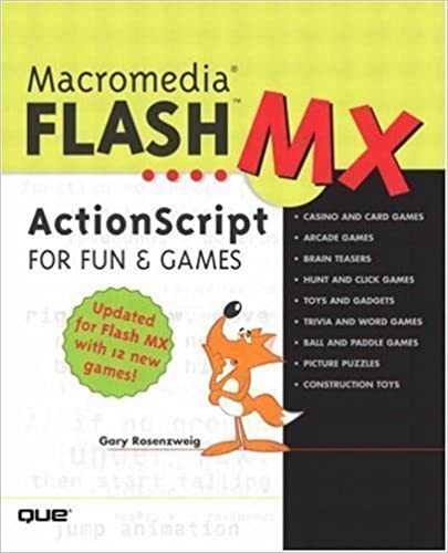 Macromedia Flash MX Actionscript for Fun and Games 1st