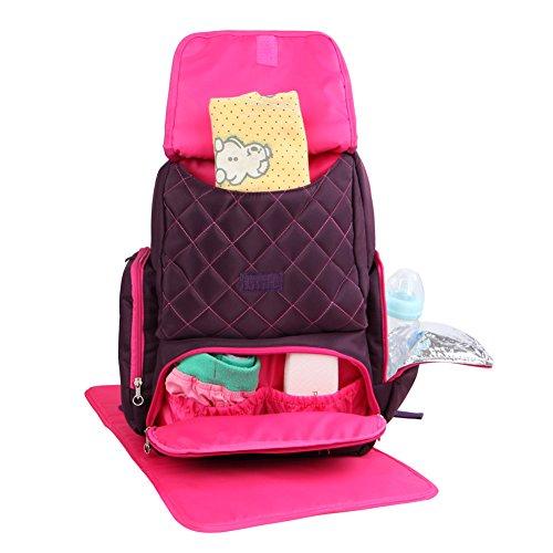 yodo diaper bag backpack smart organizer system easy. Black Bedroom Furniture Sets. Home Design Ideas