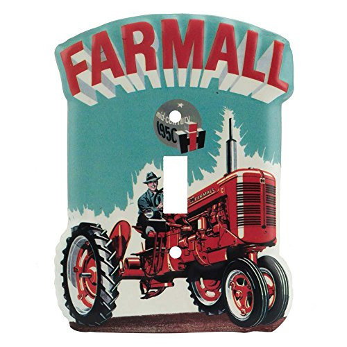 Open Road Brands Farm All Tractor Single Light Switch Plate
