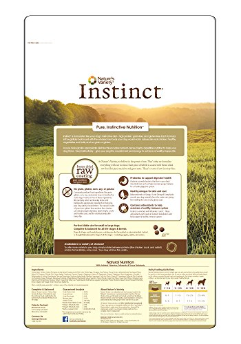 Instinct-Original-Grain-Free-Chicken-Meal-Formula-Natural-Dry-Dog-Food-by-Natures-Variety-253-lb-Bag