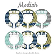 Modish Labels Baby Nursery Closet Dividers, Closet Organizers, Nursery Decor, Vintage Cars, Retro Cars, Uptown Traffic Nursery Decor