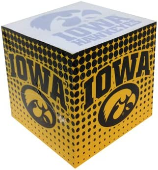Game Day Outfitters NCAA Iowa Hawkeyes 700 Sheets Stationary Memo Cube Multicolor One Size