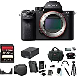 Sony Alpha a7SII Mirrorless Digital Camera (Body Only) w/ 64GB SD Card Bundle For Sale