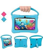 Kinderen Tablet PC, Veidoo 7-inch tablet met 1 GB RAM / 16 GB geheugen, IPS-scherm, premium ouderbesturing iWawa APP, kinderen (blauw)
