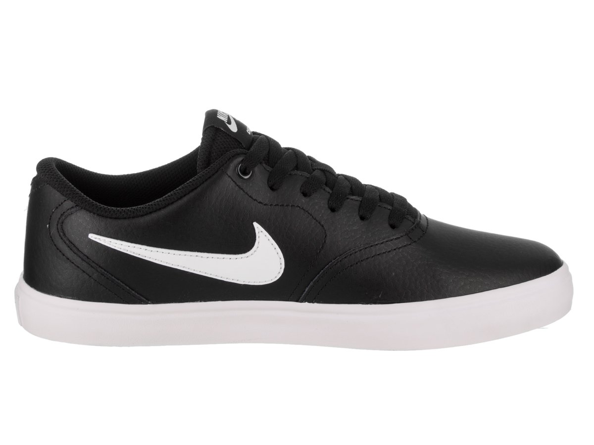 NIKE Men's SB Check Solar Skate Shoe B071NJDSYS 10.5 D(M) US|Black White