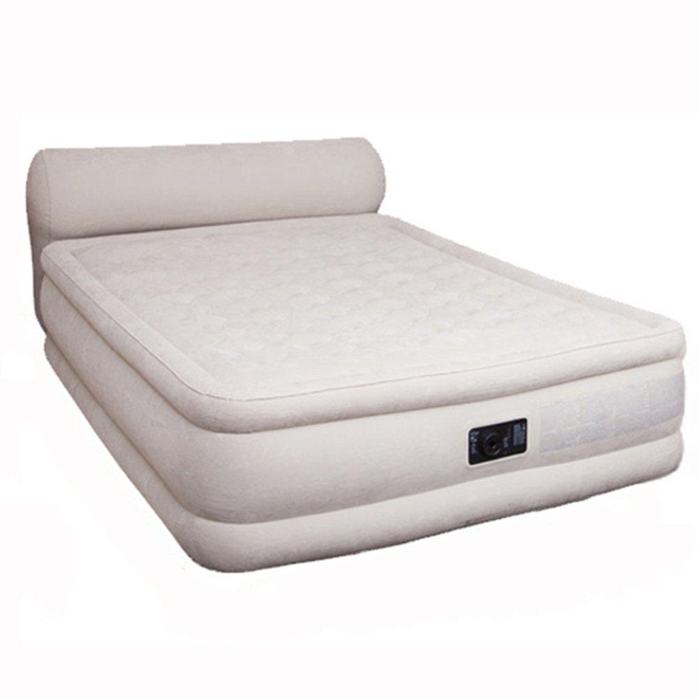 HPLL Aufblasbares Bett im Freien tragbares aufblasbares Bett-Haushalts-Luft-Bett-Doppeltes Starkes Luft-Bett-eingebautes elektrisches Pumpen-aufblasbares Bett
