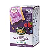 Nature's Path Frosted Wildberry Acai Toaster Pastries, Healthy,...