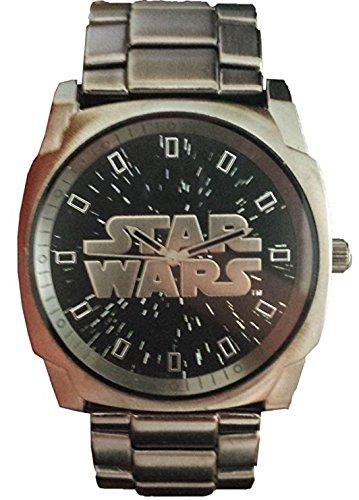 Star Wars Men's STW2306 Gun Metal Analog Watch