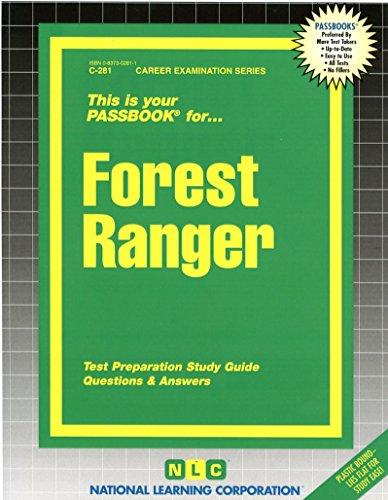 Forest Ranger(Passbooks) (Career Examination Passbooks)