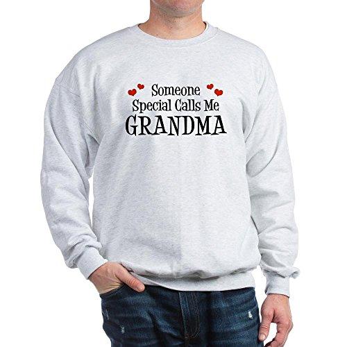 CafePress Someone Special Calls Me Grandma Sweatshirt - Classic Crew Neck Sweatshirt (Calls Special Someone)