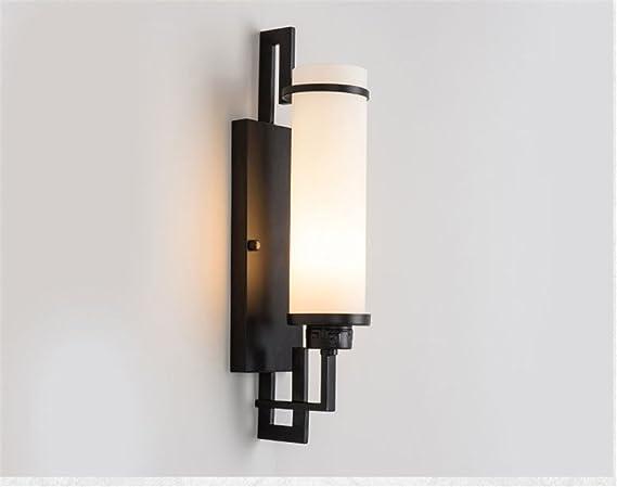 E moderna retro di lusso elegante lampada da parete in vetro