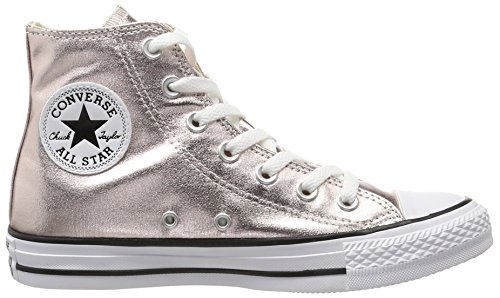 white Rose Quartz Baskets black rose Ctas Converse Femme Hi Hautes 0qBxnX8