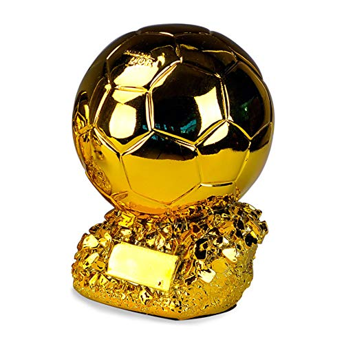 HTYX Golden Globe Award Football League Championship Trophy Competition Prize Cup Electroplating Resin Corrosion Resistant Souvenir high 23CM