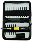 wide blade screwdriver - General Tools 63518 Eighteen-Piece Precision Screwdriver Set