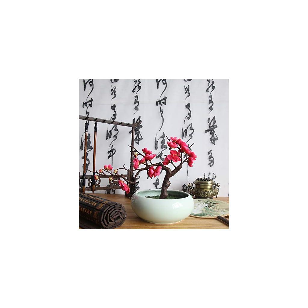Hot-SaleDEESEETMArtificial-Silk-Fake-Flowers-Plum-Blossom-Floral-Wedding-Bouquet-Party-Decor
