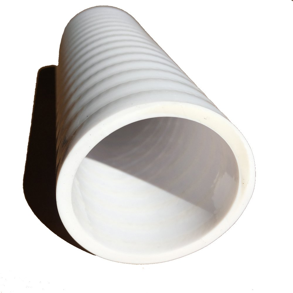Tubing for Pools Spas and Water Gardens Hose - HydroMaxx White Flexible PVC Pipe 1 1//2 Dia. x 50 ft