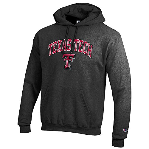 - Elite Fan Shop NCAA Texas Tech Red Raiders Men's Hoodie Sweatshirt Dark Charcoal Gray, Dark Heather, X-Large