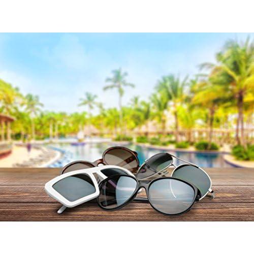 bc9e5b8959 Ciffre-UV®400 Nuevas Gafas de sol para mujer hombre clásico Nerd Vintage  Retro