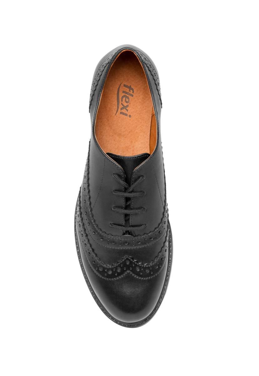86ddea6be5a Flexi Zapato Negro Mocasin para Mujer  Amazon.com.mx  Ropa